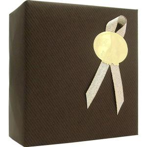 ラッピング(包装紙) ダークブラウン ※ラッピングする対象商品を備考欄にてご指定ください。 【香水フレグランス】|parfumearth