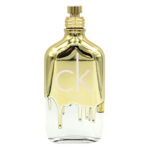 カルバン クライン CALVIN KLEIN シーケーワン ゴールド EDT SP 100ml【訳あり・テスター・未使用品】CK ONE GOLD 【香水 メンズ レディース】【送料無料】|parfumearth