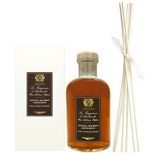 アンティカ ファルマシスタ ルームディフューザー バニラ、バーボン&マンダリン 500ml ANTICA FARMACISTA Vanilla、Bourbon&Mandarin 【父の日 ギフト】|parfumearth
