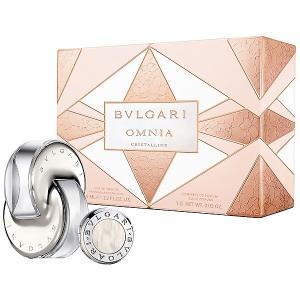 ブルガリ BVLGARI ブルガリ オムニア クリスタリン コフレ 2015(EDT 65ml +ソリッドパフューム1g) 【香水フレグランス】|parfumearth