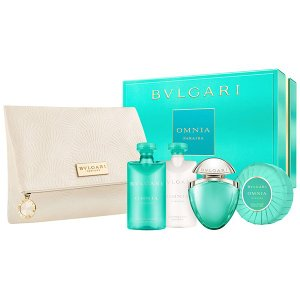 ブルガリ BVLGARI オムニア パライバ ビューティー4Pキット オリジナルポーチ付き 【香水フレグランス】|parfumearth