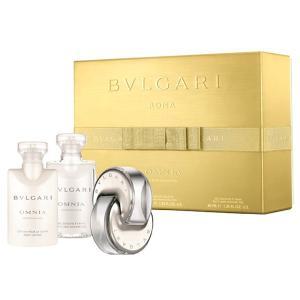 ブルガリ BVLGARI オムニア クリスタリン クリスマスセット2016(EDT 40m+ボディミルク 40ml +バス&シャワージェル 40ml )Omnia Crystalline Gift Set|parfumearth