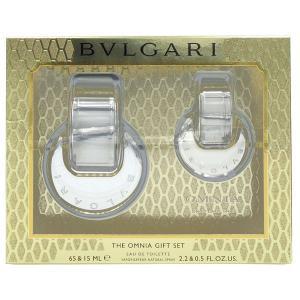 ブルガリ BVLGARI オムニア クリスタリン トラベルセット(EDT65ml +EDT15ml ) OMNIA CRYSTALLINE COFFRET SET (7190) 【香水フレグランス】|parfumearth