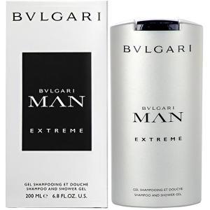 ブルガリ BVLGARI ブルガリ マン エクストレーム シャンプー&シャワージェル 200ml Bvlgari Man Extreme Shampoo & Shower Gel 【香水フレグランス】|parfumearth