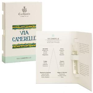 カルトゥージア Carthusia ヴィア カメレーレ EDP BT 2ml 【ミニ香水・ミニボトル】Via camerelle 【香水フレグランス】|parfumearth