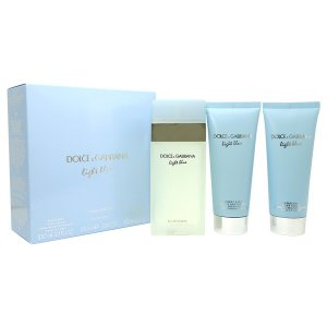 ドルチェ&ガッバーナ DOLCE&GABBANA ライトブルー トラベルエディション(EDT100ml +ボディクリーム100ml +シャワージェル100ml ) 【香水フレグランス】|parfumearth