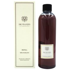 ドットール ヴラニエス DR. VRANJES リードディフューザーリフィル (詰替え用) ザクロ(MELOGRANO) 500ml【送料無料】【パッケージデザイン混在】 parfumearth