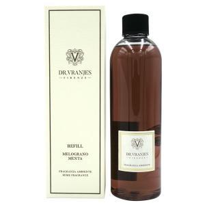 ドットール ヴラニエス DR. VRANJES リードディフューザーリフィル (詰替え用) ザクロ ミント(MELOGRANO MENTA) 500ml【送料無料】【パッケージデザイン混在】 parfumearth