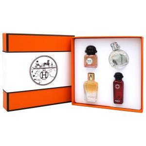 エルメス Hermes エルメス ミニチュア セット 7.5ml ×4 【送料無料】 HERMES MINIATURE FRAGRANCE COFFRET 【香水フレグランス】【父の日 ギフト】|parfumearth