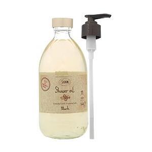 サボン SABON シャワーオイル ムスク 500ml 【香水フレグランス】|parfumearth