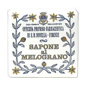サンタマリア ノヴェッラ ザクロソープ トワレットサイズ 100g Santa Maria Novella サボン SAVON 石鹸 【香水 フレグランス】|parfumearth