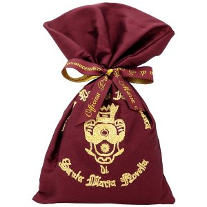 サンタマリアノヴェッラ Santa Maria Novella シルクサシェ ボルドー 40g Sacchetto in seta con stemma 【香水フレグランス】|parfumearth