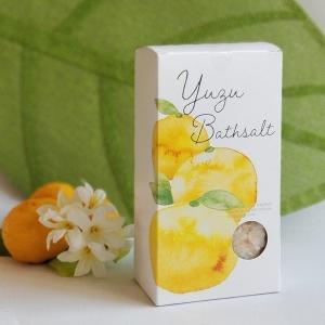 入浴剤 ゆずバスソルト 40g×5包:5回分 入浴剤 ゆずの香り ギフト プレゼント 母の日 母の日 parfums-salvadordali