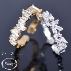 リング 指輪 キュービック ジルコニア CZ 上品 綺麗め レディース Luxury's ラグリーズ ギフト プレゼント pariskids-net