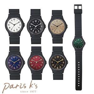 腕時計 レディース ラバー カラー ブラック 黒 黒い シンプル スポーティー クール グリーン ブルー|pariskids-net
