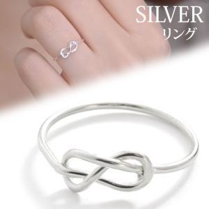 リング 指輪 silver925 SILVER シルバーリング シルバー ノットリング ノット 結び目 ツイスト デザイン シンプル 送料無料|pariskids-net