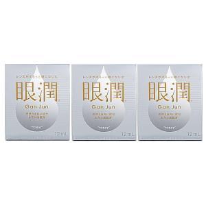 東レ ハードコンタクトレンズ用装着液 眼潤(がんじゅん)3箱セット