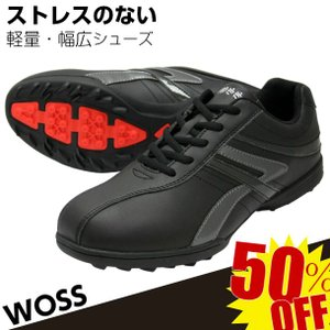 パークゴルフシューズ WOSS メンズ パークゴルフ用品...