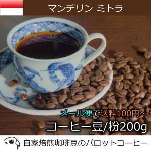 コーヒー豆 200g マンデリン ミトラ 自家焙煎