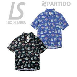 ルースイソンブラ セール LUZ e SOMBRA (C1612022) パライーゾアロハシャツ フットサルウェア partido