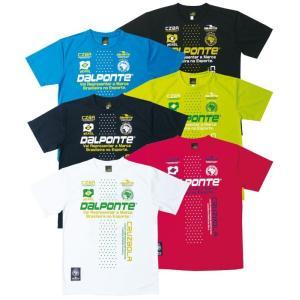 ダウポンチ DALPONTE セール (DPZ0134) ドットラインプラクティスTシャツ フットサルウェア|partido