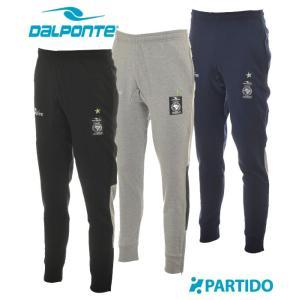 ダウポンチ DALPONTE セール (DPZ0180) テーパードスウェットパンツ フットサルウェア|partido
