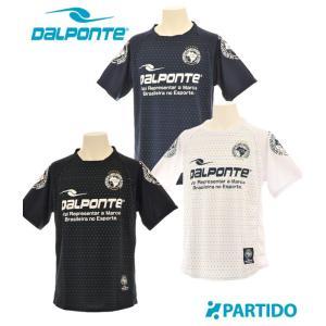 ダウポンチ DALPONTE (DPZ45) ドット柄プラクティスシャツ フットサルウェア|partido
