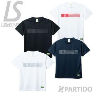 ※予約 ルースイソンブラ LUZ e SOMBRA (F1811015) パラレルラインプラクティスシャツ フットサルウェア|partido