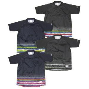 フィグラ FIGURA セール (FIG-C034) 昇華グラデーションーションプラクティスシャツ フットサルウェア|partido