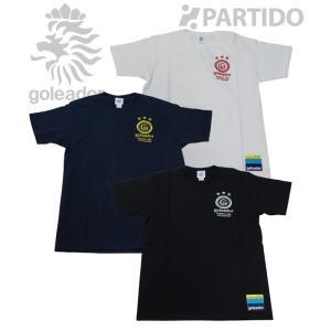 ゴレアドール goleador (G-1998) ワンポイント刺繍かすれプリントTシャツ フットサルウェア|partido