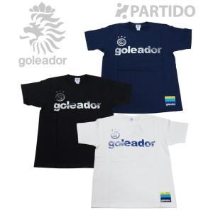 ゴレアドール goleador (G-2012) かすれプリントTシャツ フットサルウェア|partido
