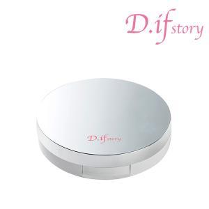 ディフストーリー FLベール プレストパウダー D.ifstory 極上ツヤ肌 ネコポス送料無料 ダイヤモンドと真珠のキラキラフェイスパウダー|partners-kyoto