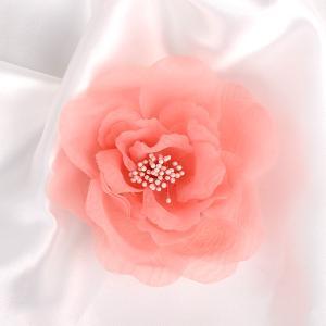 オーガンジー コサージュ ピンク 005  フォーマル|partners-kyoto
