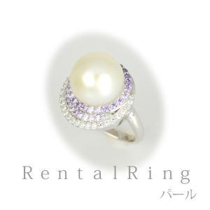 リングレンタル 4日間 あこや真珠 12mm キュービックジルコニア 9号〜11号 003 往復送料無料 指輪|partners-rental