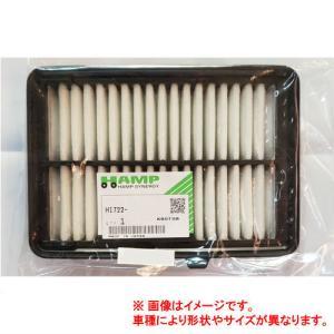 HAMP(ハンプ)/エアフィルター(エアエレメント) H1722-RGB-000/ゼスト JE1/JE2 ターボ/ライフダンク parts-conveni