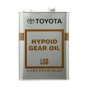 品番:08885-00305 内容量:4L トヨタ純正ハイポイドギヤオイルLSD GL-5 85W-...
