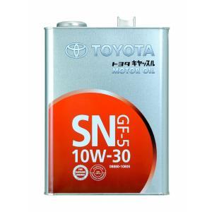 API規格(グレード):SN ILSAC規格:GF-5 SAE粘度:10W-30 内容量:4L 油種...