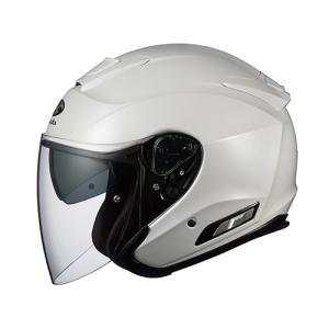 取寄 ASAGI パールホワイト XL OGK(オージーケーカブト) パールホワイト 1個 parts-department