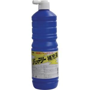 01001 お徳用バッテリー補充液 1L KYK(古河薬品工業) 1L 1本|parts-department