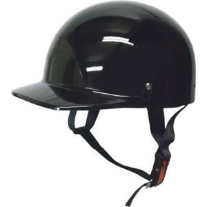 ハーフタイプ ハーフキャップヘルメット ブラック モトボワットBB ブラック 1個 parts-department