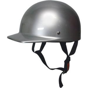ハーフタイプ ハーフキャップヘルメット シルバー モトボワットBB シルバー 1個 parts-department