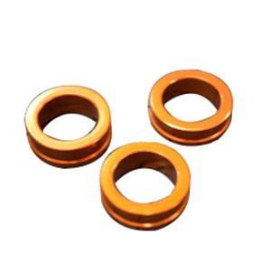 取寄 HSES-OR プラグ変換アダプター オレンジ 6.0/6.5/7.0mm KN企画 オレンジ...
