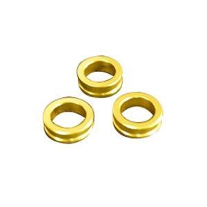 取寄 HSES-GD プラグ変換アダプター ゴールド 6.0/6.5/7.0mm KN企画 ゴールド...
