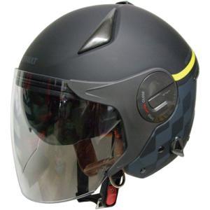 在庫10未満 ジェットタイプ RN-999W RN-999W ルノー Wシールドジェットヘルメット マットブラック FS マットブラック 1個 parts-department