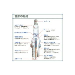 NGK CR6HS 【ケース売り】 標準プラグの詳細画像2