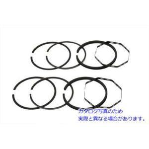 V-TWIN 品番 11-2511 80  Shovelhead Piston Ring Set ....