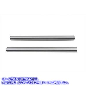 "【米国取寄せ】Hard Chrome 41mm Fork Tube Set with 20"" Tot..."