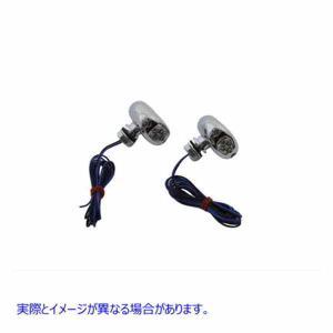V-TWIN 品番 33-0273 LED Blue Marker Lamp Set Center ...