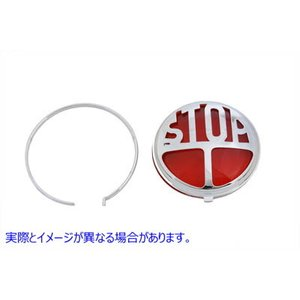 V-TWIN 品番 33-1916 Tail Lamp Lens Kit Stop Style Re...