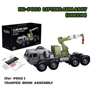 HG P803 リフティングアームASSY Green P802用 HEMTT 拡張Parts|parts758